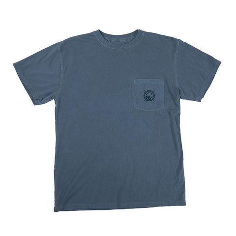 2021 Radar Branded Pocket Tee - Blue