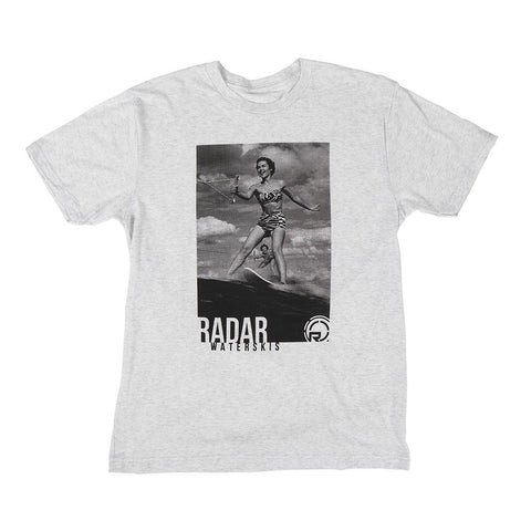 2021 Radar Nostalgia Tee - Heather White
