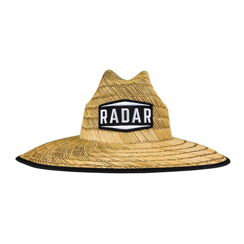 2021 Radar Paddler's Sun Hat - Tan Straw / Wave Nylon