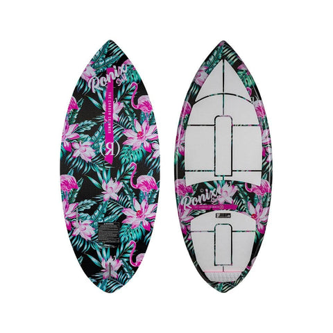 2020 Ronix Women'S Carbon Air Core 3 The Skimmer - Tropical Oasis