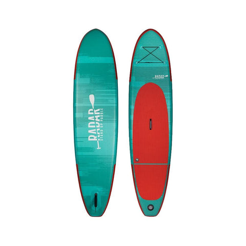 2020 Radar Zephyr Inflatable Sup - Mint / Red