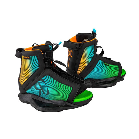 2020 Ronix Vision Boots - Black / Orange / Green