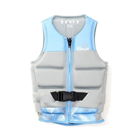 2020 Ronix Drivers Ed L50S Vest - Blue / Grey / White