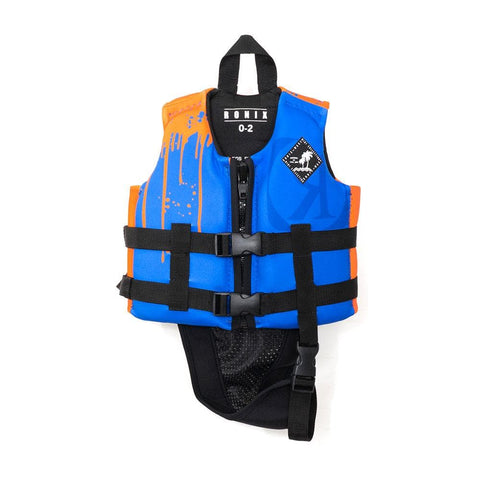 2020 Ronix Vision L50S Vest - Blue / Orange Paint