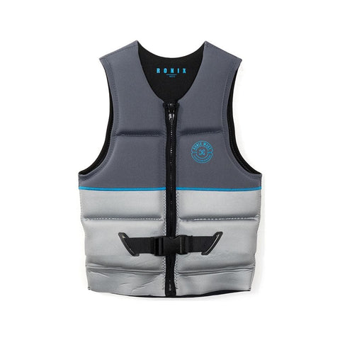 2020 Ronix Supreme L50S Vest - Dark / Light Grey / Blue