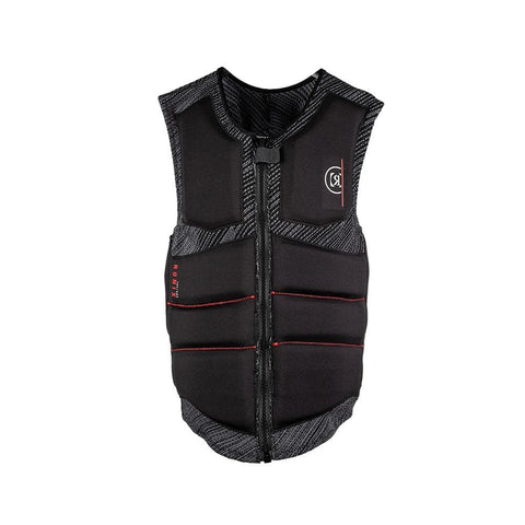 2020 Ronix One Custom Fit Boa Impact Jacket (Non-Approved) - Engineered Charcoal / Red