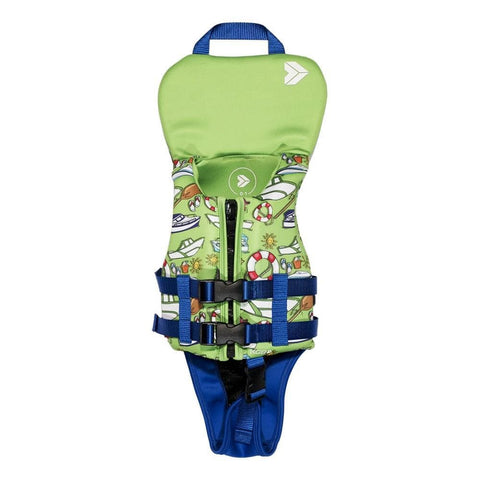 2020 KGB Boys Vest With Collar - Green