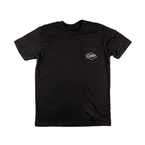 2020 Radar Branded Pocket Tee - Black
