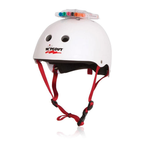 2019 Liquid Force Kids Wipeout Helmet - White - YL 51-53cm