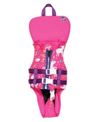 2020 KGB Ivy Girls Vest With Collar - Pink Unicorn