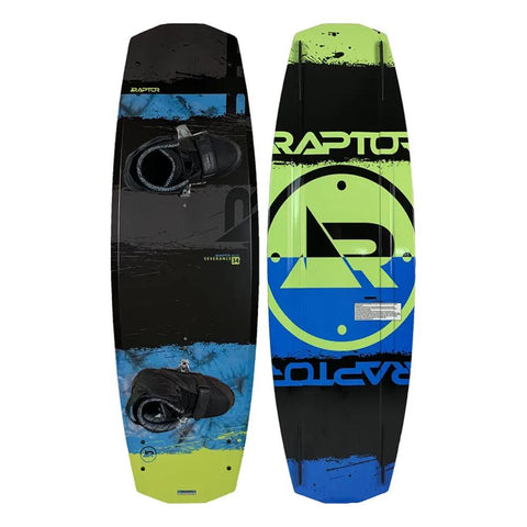 2021 Raptor Severance 134cm Wakeboard W/Freeride boots Large