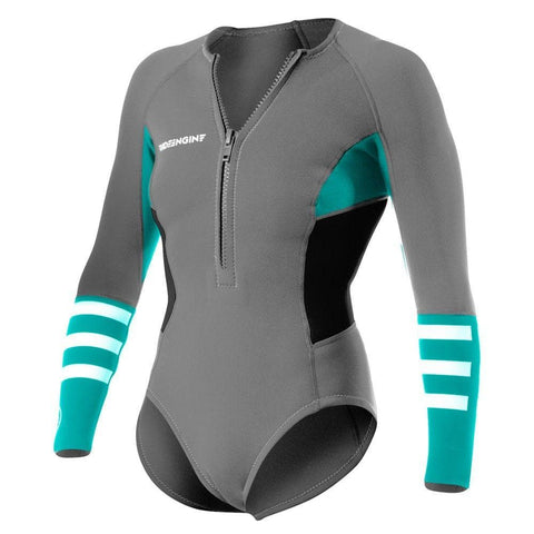 2016 Ride Engine WMS Almar booty shorty long sleeve Frontzip 2/2
