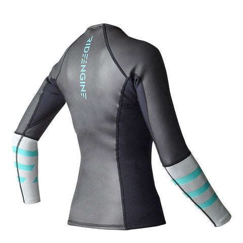 2018 Ride Engine WMS 2/1 Cora front zip long sleeve top