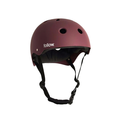 2021 Follow Safety First Helmet - Red