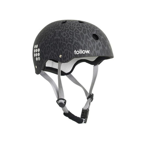 2021 Follow Pro Graphic Helmet - Leopard