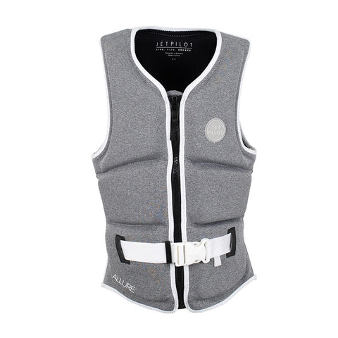 2021 Jetpilot Allure F/E Ladies Neo Vest - Grey/Marle