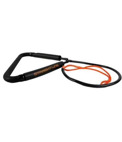2021 Straightline Barefoot Dlx Front Toe Handle - Black Orange