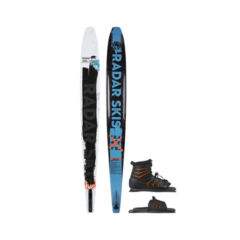 2021 Radar 65 TRA Ski with Vector Boots Package - Black / White / Blue