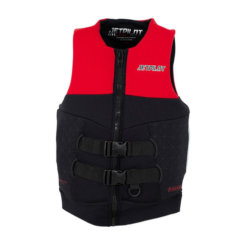 2021 Jetpilot Cause Mens S-Grip F/E L50 Neo Vest - Red