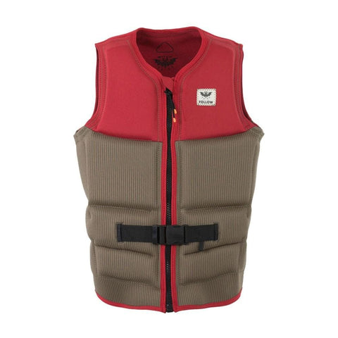 2020 Follow Mitch Pro Mens Vest - Dusty Red