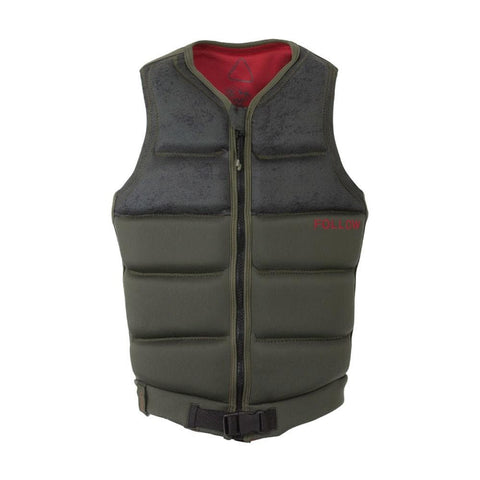 2020 Follow Cody Mens Vest - Olive