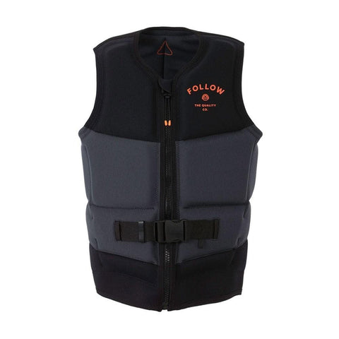 2021 Follow Coastline Mens Vest - Black