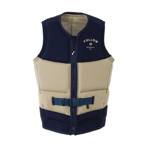 2021 Follow Coastline Mens Vest - Navy