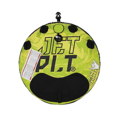 2021 Jetpilot Gripper 2 Round Towable - Green/Yellow