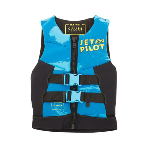 2020 Jetpilot The Cause F/E Kids Neo Vest - Blue