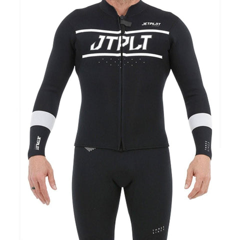 2020 Jetpilot RX Mens Race Jacket - Black/White