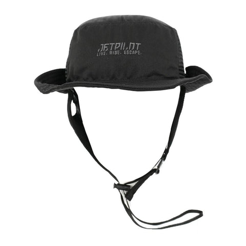 2020 Jetpilot Floating Watersports Hat - Black