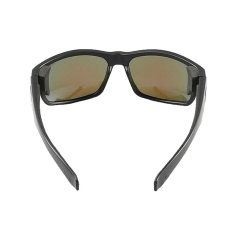 2020 Jetpilot Matrix Ride Polarized Sunnies - Matte Black/Blue/Mirror