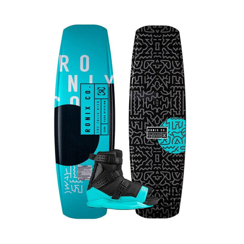2020 Ronix Julia Rick Spring Box 2 Wakeboard + Halo Boots Package