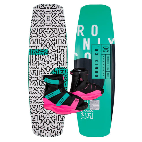 2019 Ronix Julia Rick Wakeboard + Halo Boots Package