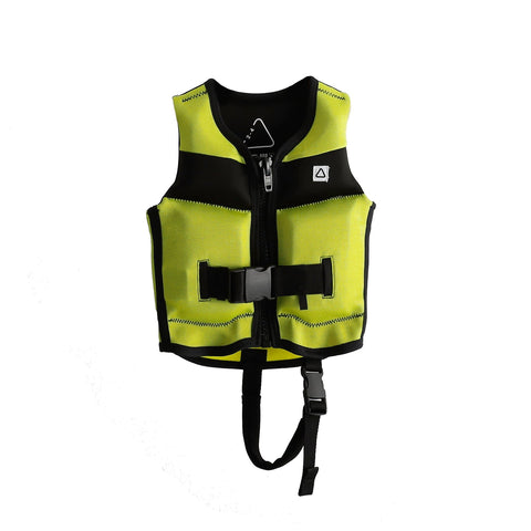 2021 Follow Primary Jr Kids Vest - Fluro Yellow