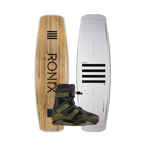 2020 Ronix Kinetik Project Flex Box 1 Wakeboard + Supreme EXP Boots Package