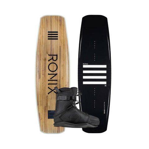 2020 Ronix Kinetik Project Flex Box 1 Wakeboard + Kinetik Project EXP Boots Package