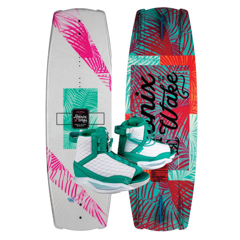 2019 Ronix Krush Wakeboard + Luxe Boots Package