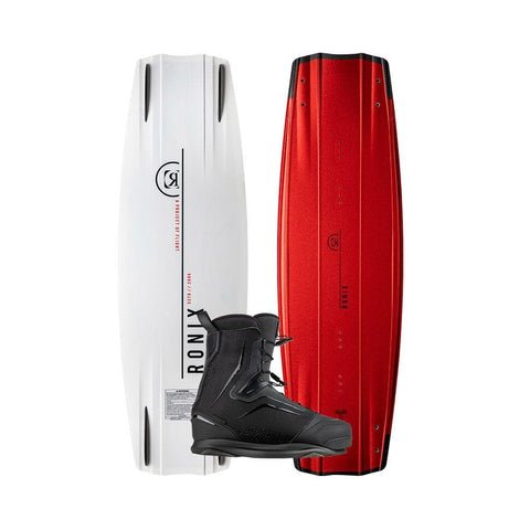 2020 Ronix One Fused Core Wakeboard + One Black Boots Package