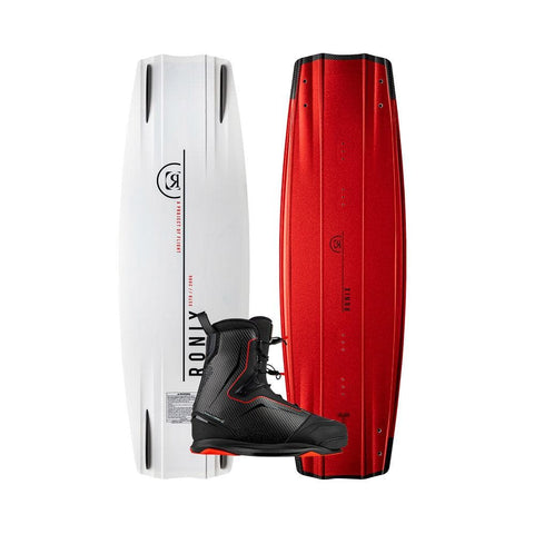 2020 Ronix One Timebomb Fused Core Wakeboard + One Carbitex Boots Package