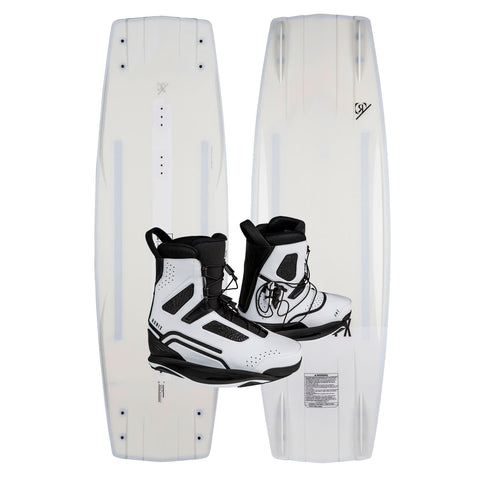 2019 Ronix RXT Wakeboard + One White Boots Package