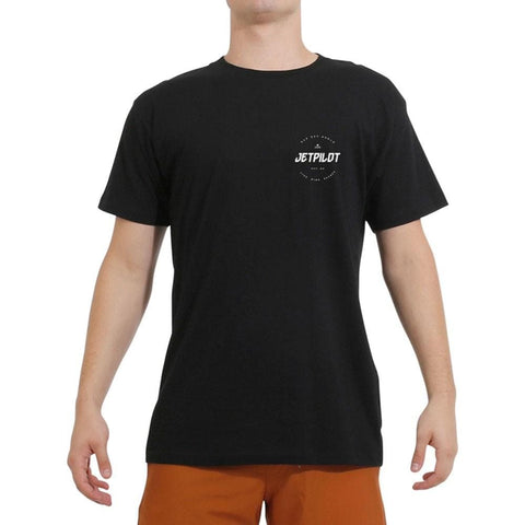 2020 Jetpilot Full Circle S/S Mens Hydro Tee - Black
