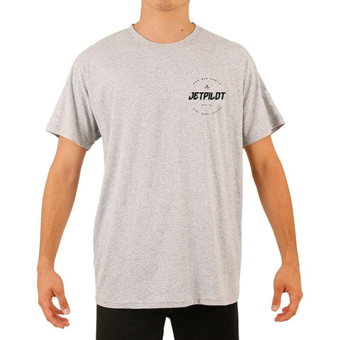 2020 Jetpilot Full Circle S/S Mens Hydro Tee - Ice Marle