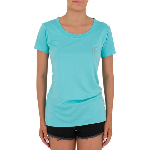 2021 Jetpilot Active Ladies Hydro Tee - Teal