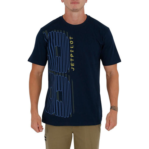 2021 Jetpilot Eight Six Mens Tee - Navy