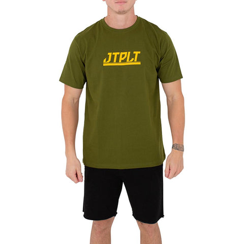 2021 Jetpilot Direction Mens Tee - Green