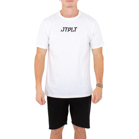 2021 Jetpilot Backhits Mens Tee - White