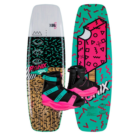2019 Ronix Spring Break Nu Core 2.0 Wakeboard + Halo Boots Package