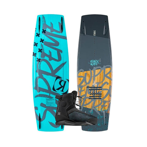 2020 Ronix Supreme Sandwich ATR Wakeboard + Parks Boots Package