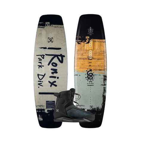 2020 Ronix Top Notch Wakeboard + Parks Boots Package